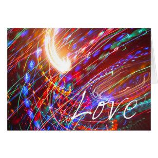 Amor universal cartão