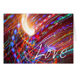 Amor universal cartões