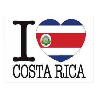 Amor v2 de Costa Rica Cartão Postal