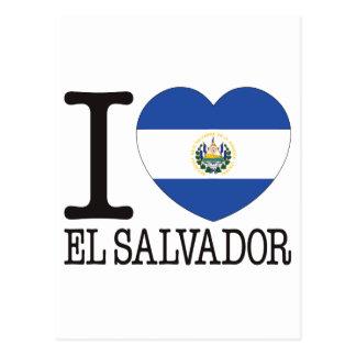 Amor v2 de El Salvador Cartões Postais