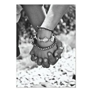 Amor verdadeiro convites personalizado