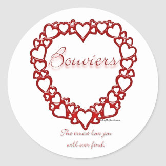 Amor verdadeiro do DES Flandres de Bouvier - Adesivo