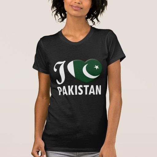 Amor W de Paquistão T-shirt
