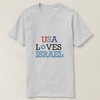 Amores Israel dos EUA Camiseta