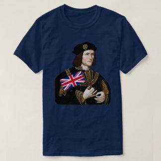 Amores Leicester - Union Jack do rei Richard III Camiseta