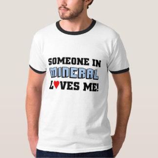 Amores minerais mim t-shirts