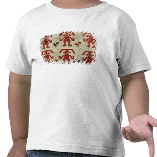 Amostra de tecido de Lambayeque com uma figura Tshirts