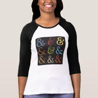 Ampersands Camiseta