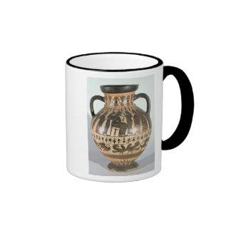 Amphora do Corinthian do sótão Caneca