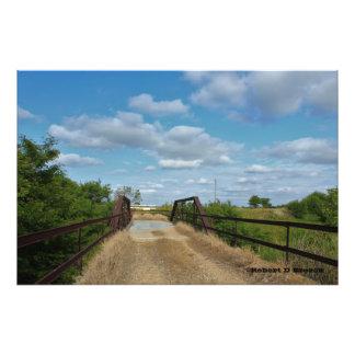 Ampliação da foto da ponte do país de Kansas