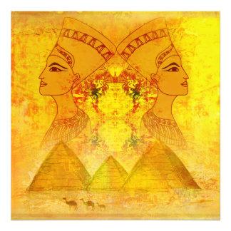 Ampliação egípcia da foto da rainha Cleopatra