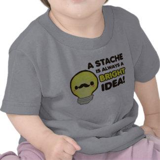 Ampola do bigode t-shirts