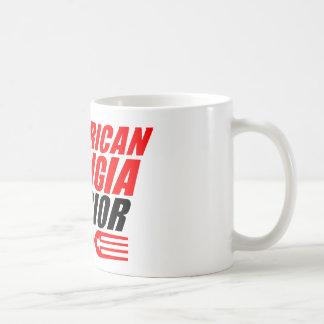 AMW caneca de café de 11 onças com logotipo