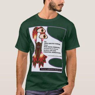 anagramas 11 do vício do fractal pelo fractalart camiseta