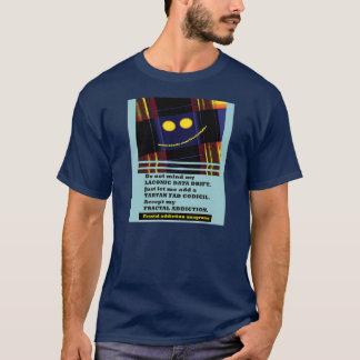anagramas 12 do vício do fractal pelo fractalart camiseta