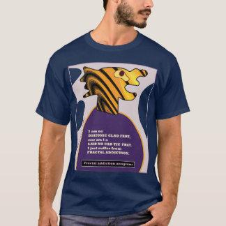 anagramas 9 do vício do fractal pelo fractalart camiseta