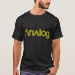 Analog-BCMshop Camiseta