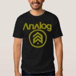 analog camiseta