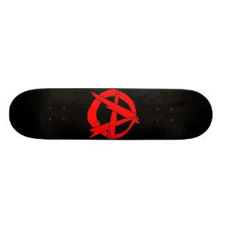 Anarquia Shape De Skate 21,6cm