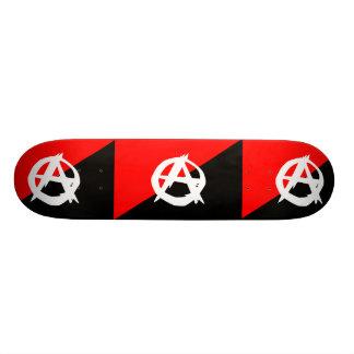 Anarquista com um símbolo, Colômbia Shape De Skate 18,1cm