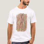Anatomia do corpo humano camiseta