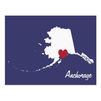 Anchorage Alaska Cartão Postal
