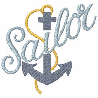 Âncora do marinheiro moleton bordado