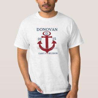 Âncora náutica da reunião de família camiseta