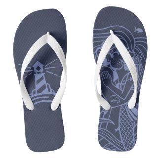 Ancorado para amar sandálias
