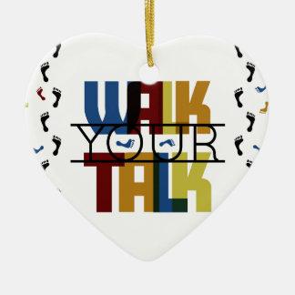 Anda sua conversa #1 ornamento de cerâmica
