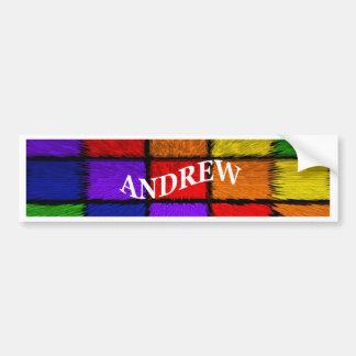 ANDREW (nomes masculinos) Adesivo Para Carro