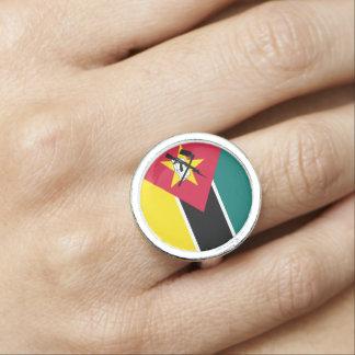 Anéis Bandeira de Mozambique