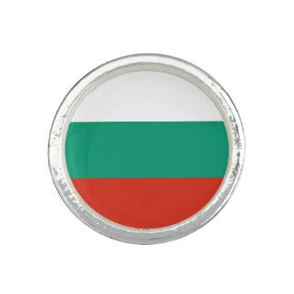 Anéis Com Foto Bandeira búlgara patriótica