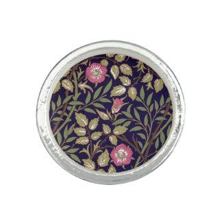 Anéis Com Fotos Arte floral Nouveau do Briar doce de William