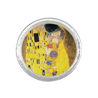 Anéis Com Fotos O beijo por Gustavo Klimt