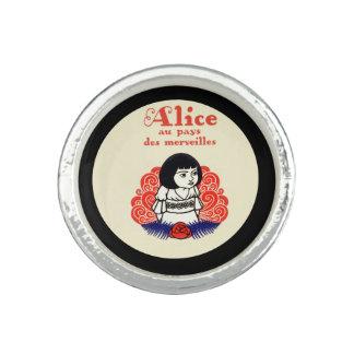 Anéis Com Imagens Capa do livro de Alice do francês