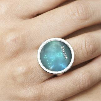 Anéis Com Imagens Constelação dos peixes
