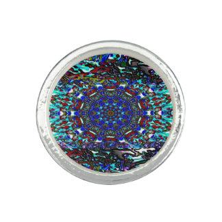 Anéis Com Imagens Design do sudoeste de Absrtract