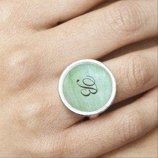 Anéis Com Imagens Foto da polpa do jardim do verde da hortelã ou de