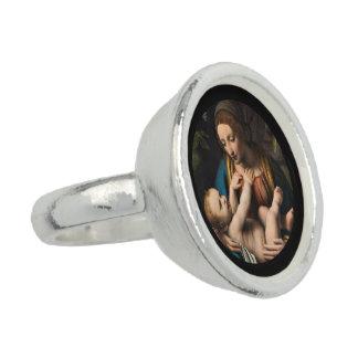 Anéis Com Imagens MED Kristusbarnet de Madonna