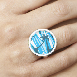 Anéis Palmeiras abstratas