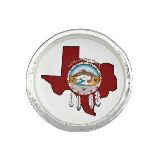 Anéis Protetor tribal/anel redondo de Texas