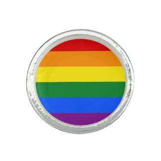 Anel Bandeira do arco-íris