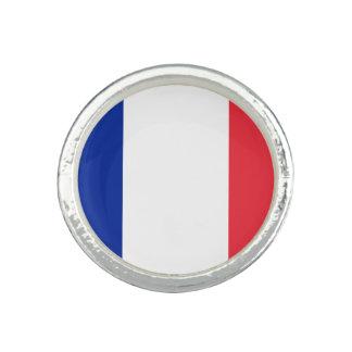 Anel Bandeira francesa patriótica