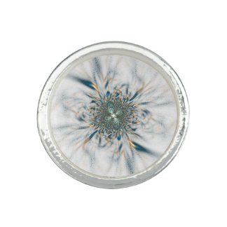 Anel Com Foto blue flower