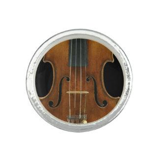 Anel Com Imagem Fim-Acima de Stradivari