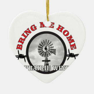 anel do vento da pradaria ornamento de cerâmica