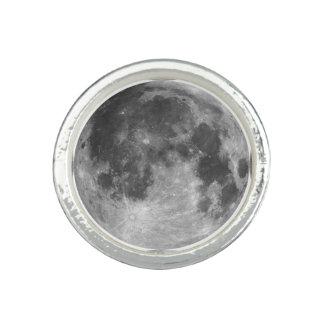 Anel Produtos customizáveis da Lua cheia