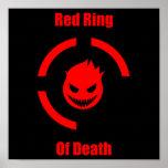 Anel vermelho da morte impressão