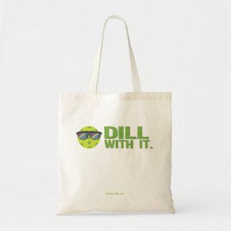 """""""Aneto com ele"""" sacola de Pickleball Bolsa Tote"""